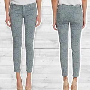 7 For All Mankind Gwenevere Cropped floral Jeans